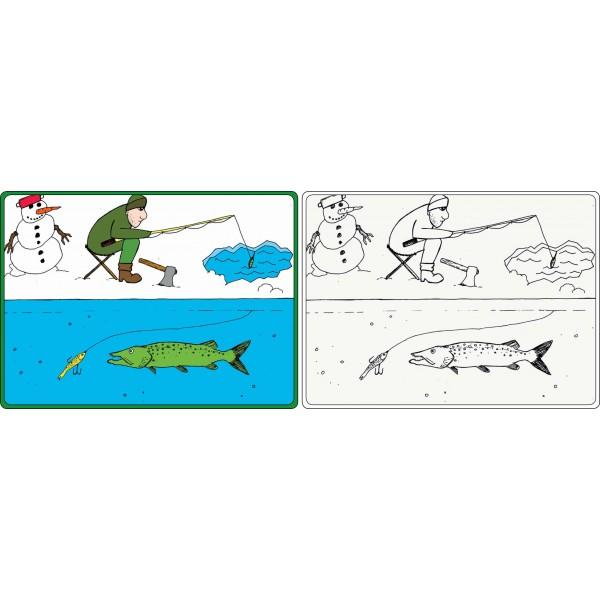 R-SPEKT Rybářské omalovánky