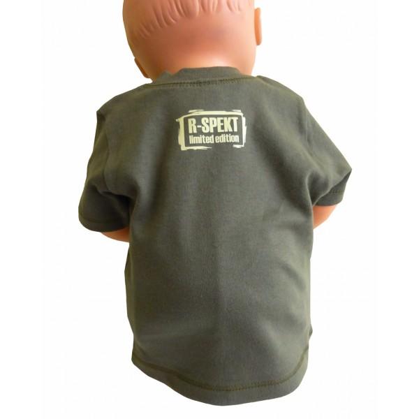 R-SPEKT Baby triko khaki
