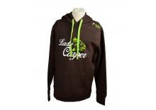 R-SPEKT Mikina s kapucí Lady Carper choco