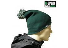 R-SPEKT Kulich pompom DUO beanie style zelený