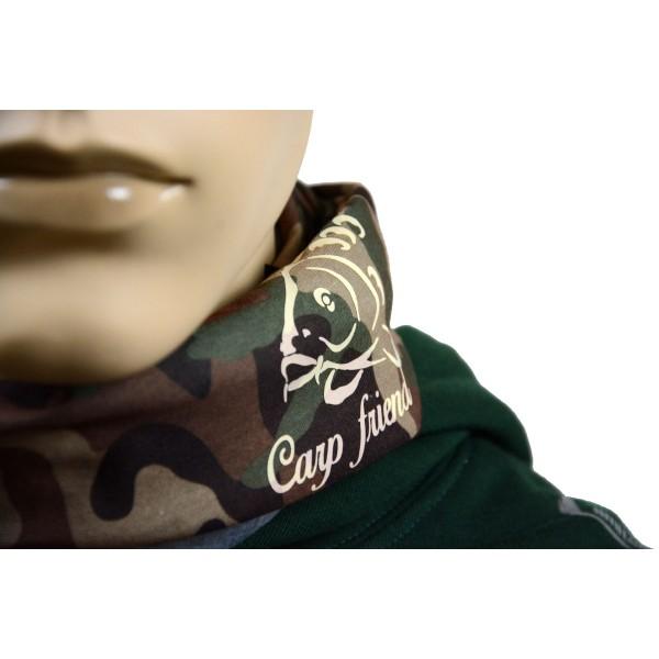 R-SPEKT Multifunkční šátek Carp friend camou