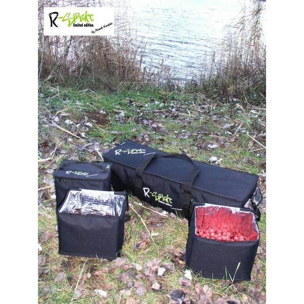 R-SPEKT Bait Transporter + 3x Bait Cube