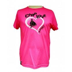 R-SPEKT Dětské tričko CARP LOVE fluo pink